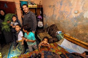 Revenge killings in Upper Egypt - Mother and Father with four small children inside a house in Dar el Salam, Egypt